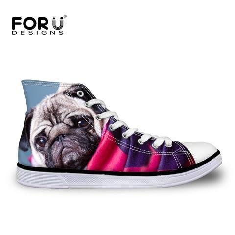 Cute Dog Paw Print Sketch Women Casual Shoes Sneakers Canvas Lo-Top Cute Simple