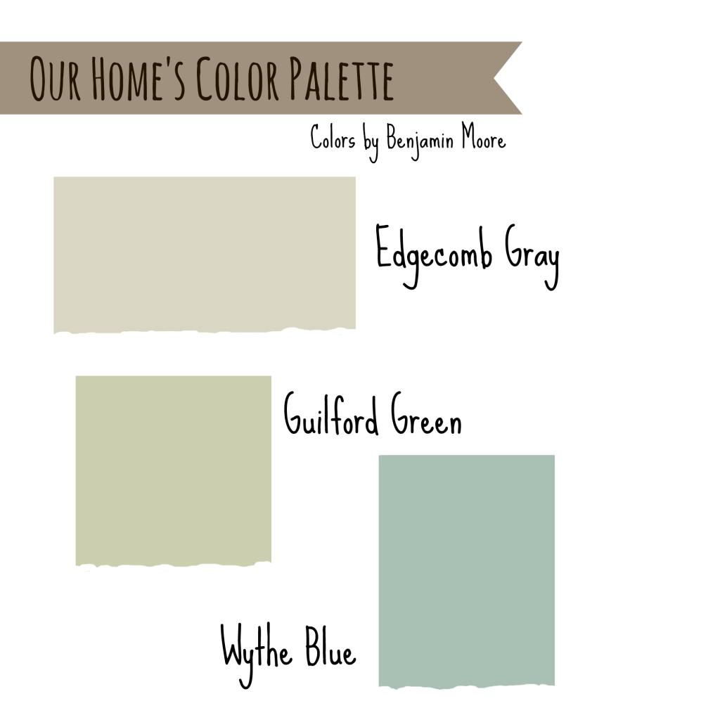 House colors edgecomb gray wythe blue and guilford Green grey paint benjamin moore