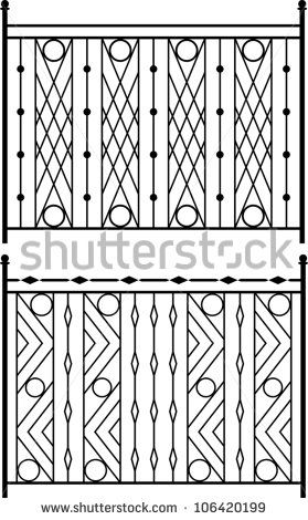 Wrought Iron Gate Door Fence Window Grill Railing Design Stock Railing Design Grill Design Window Grill Design