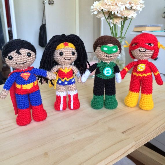 Green Lantern Amigurumi Crochet Plush Doll | Patrones amigurumi ...