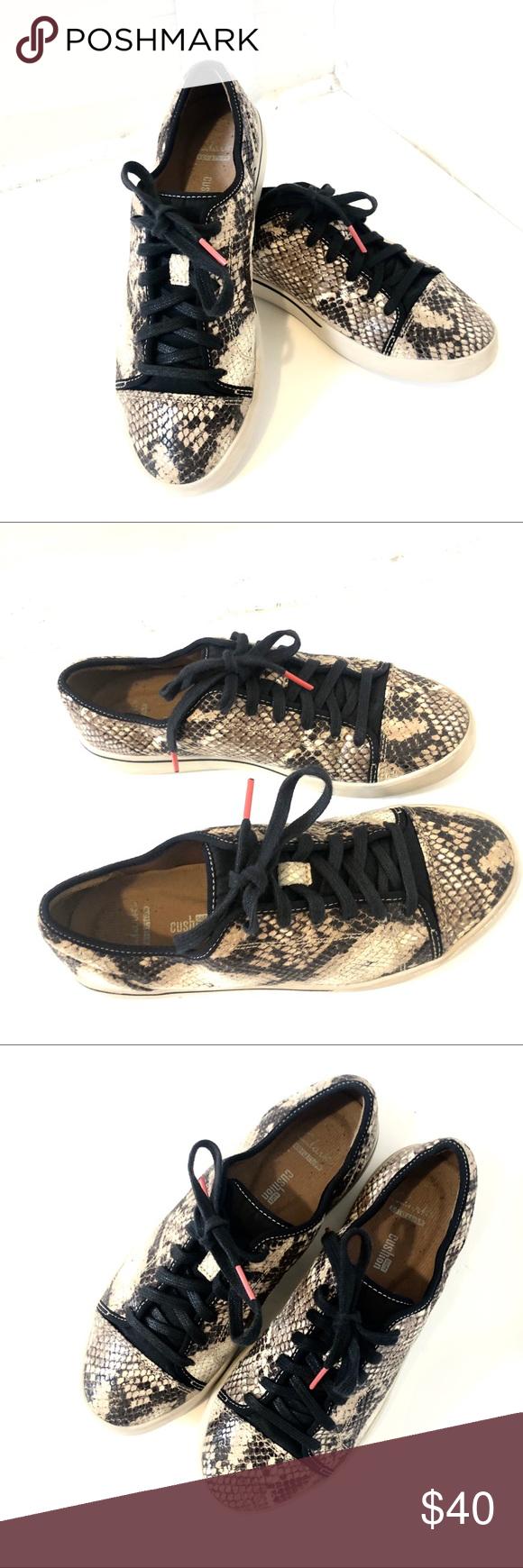 Snakeskin Clark's Tennis shoes   Tennis