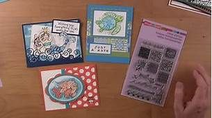stampendous rubber stamps and cards youtube - Bing video