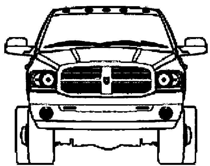 Dodge Mini Truck Coloring Page | Teacher Stuff | Pinterest | Crafts ...
