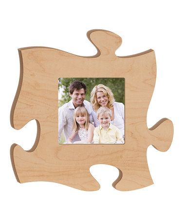 This Maple Puzzle Piece Photo Frame Frame, Photo frame