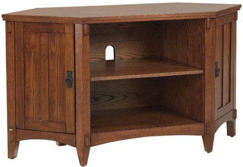Artisan Corner Tv Stand 26 X48 X20 Light Oak Home Decorators