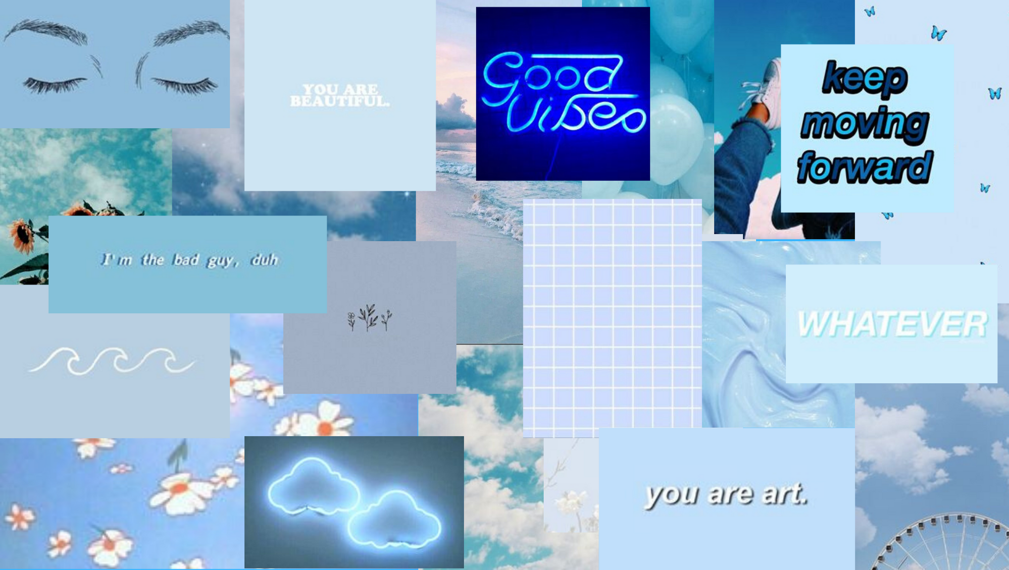 Aesthetic Wallpaper Laptop Soft Baby Pastel Blue In 2020 Aesthetic Desktop Wallpaper Laptop Wallpaper Desktop Wallpapers Computer Wallpaper Desktop Wallpapers