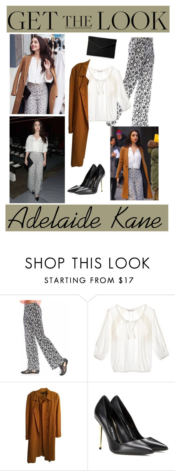 """Adelaide Kane"" by ancona148 ❤ liked on Polyvore featuring Kane, Grayson, Victoria's Secret, Alessandro Dell'Acqua, Tom Ford and Rebecca Minkoff"