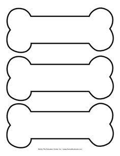 picture regarding Paw Patrol Badge Template Printable named pet dog bone template printable - Google Look Samuels 1st
