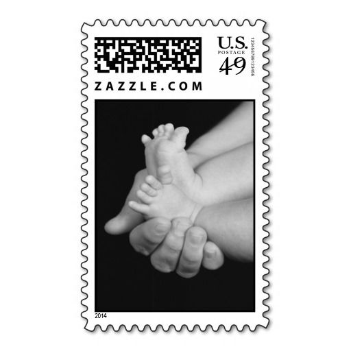 baby feet postage stamp make your own stamps more personal to