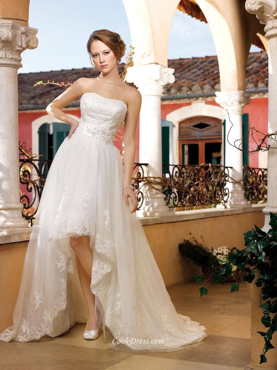 Strapless Spring Wedding Dresses