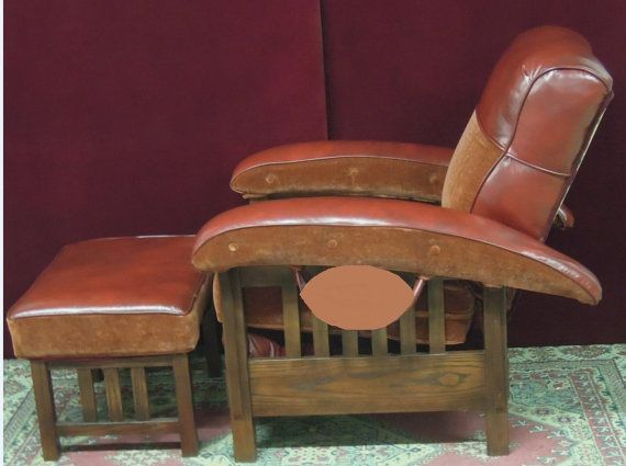 Charles Custom Football Chair And Ottoman By CharlesHaynesCustom