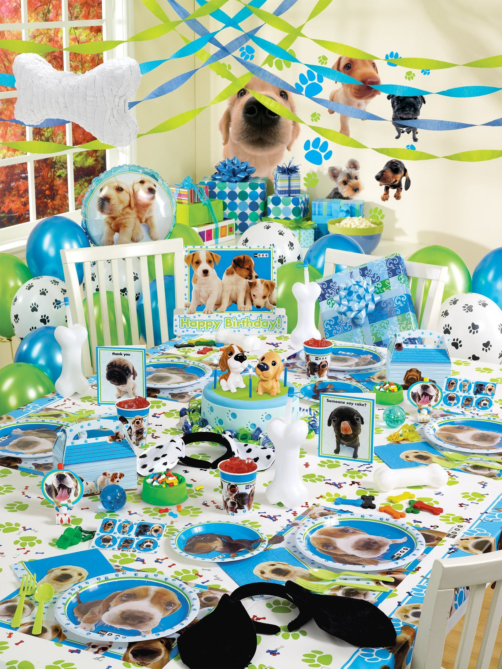 Party Supplies Dog Themed Parties