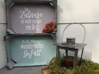 Creatives House: Herstellung von Obstschachteln mit OutdoorDecor #dekoeingangsbereichaussen