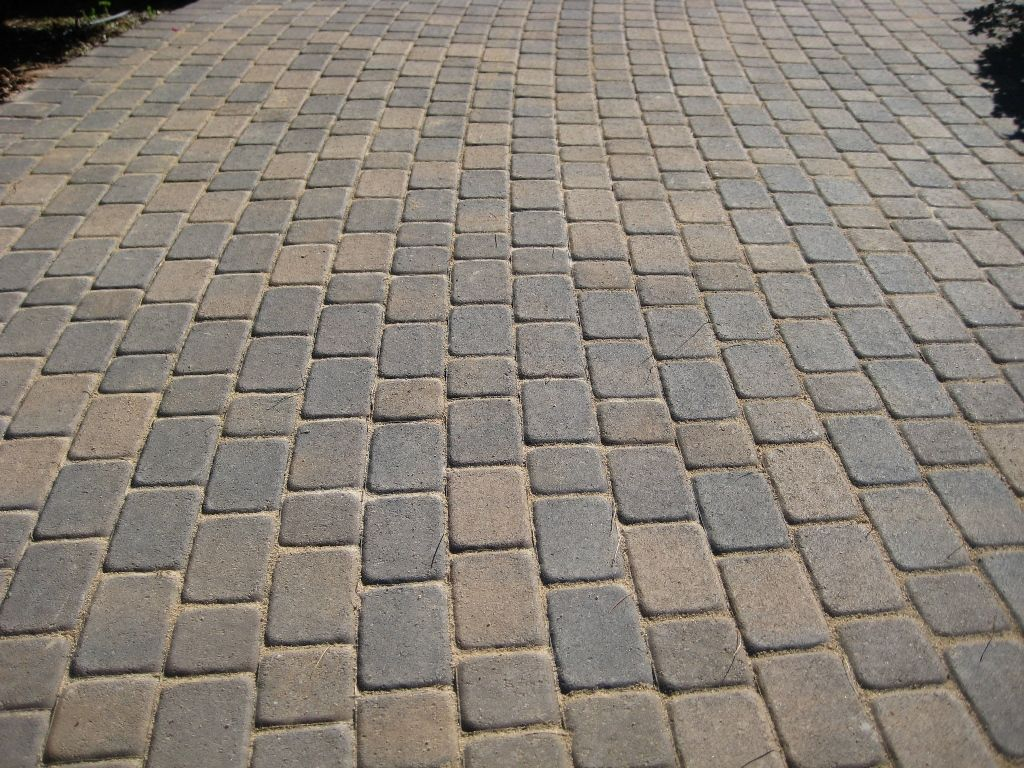 paving antique cobble runner laying pattern paving