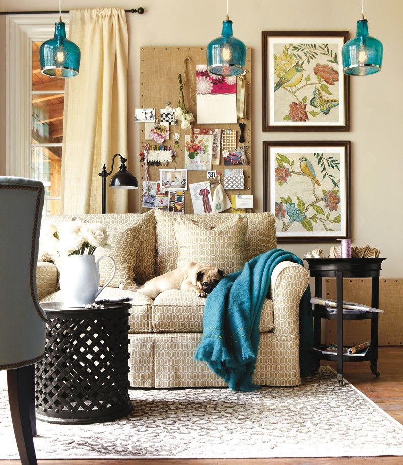 neutral living room with bright pops of color home decor on living room color inspiration id=59478