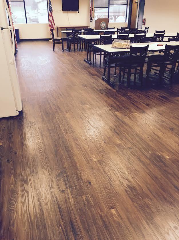 Metroflor Konecto. Carpet Fair Commercial Division. #flooring #wood #lvt  #vct