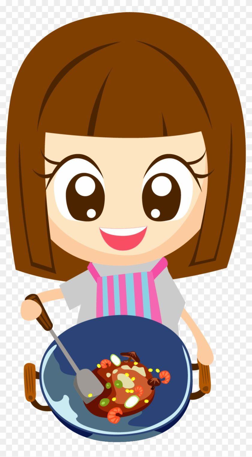 Cooking Cartoon Images : cooking, cartoon, images, Cartoon, #cooking, Aesthetic, Basics, Cooking,, Illustration,, Illustration