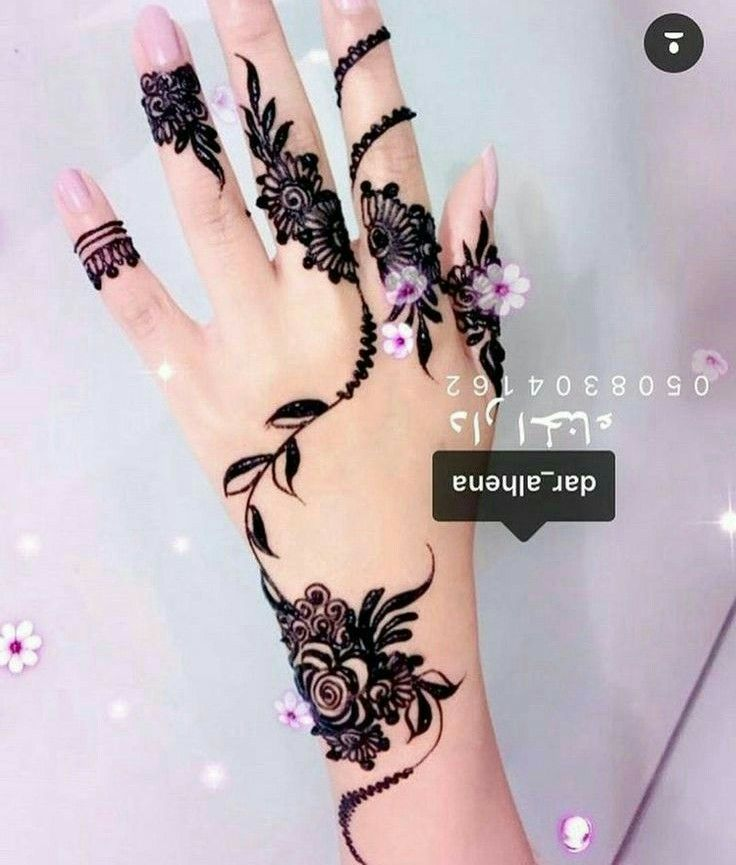 Pin By Siti Masrikha On Mehndi Henna Tattoo Designs Henna Tattoo Designs Arm Mehndi Designs For Fingers