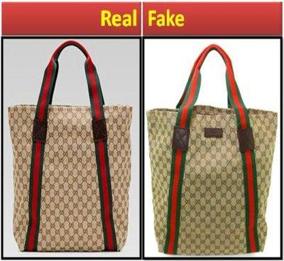 Spot Fake Gucci Bags