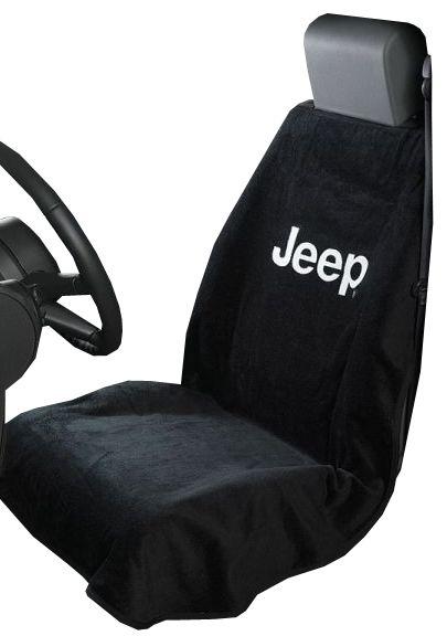 Seat Armour Jeep Logo Seat Towel Black 87 20 Jeep
