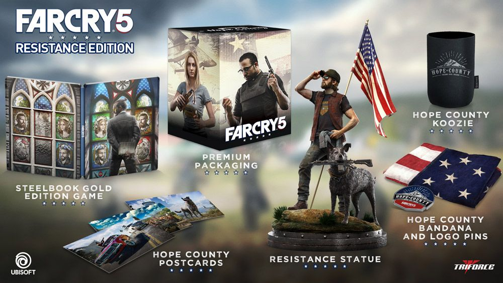 Far Cry 5 Resistance Edition Only At Gamestop By Ubisoft Ubisoft Card Games Let It Be