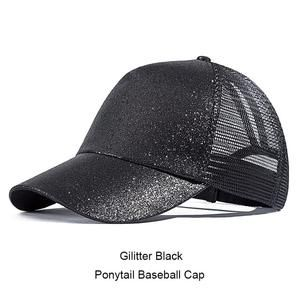 f4e53c10697 URDIAMOND 2019 Ponytail Baseball Cap Women Messy Bun Snapback Summer Mesh  Hats Casual Sport Caps Drop Shipping Adjustable