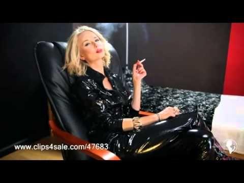 Mistress Smoking femdom