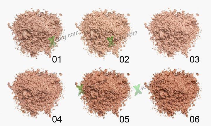 Пудра Flormar Loose Powder № 1 2 3 4 Wishlist