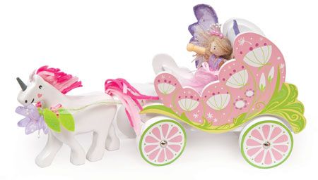 TV642 Le Toy Van Fairy Carriage & Unicorn Reviewed on www.babyworld.co.uk