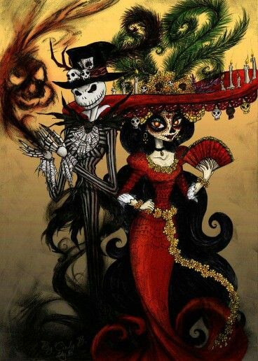 Nightmare Before Christmas Day of the Dead