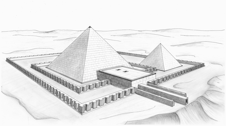 File Khendjer Complexe 1 Jpg Wikimedia Commons Mastabas Egipcias Egipto Piramides Egipcias
