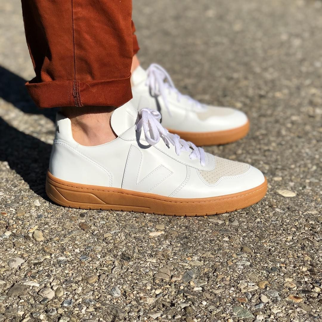 8c60fa861dbd It s all about that gum sole! Our V-10 Extra White Natural are made ...