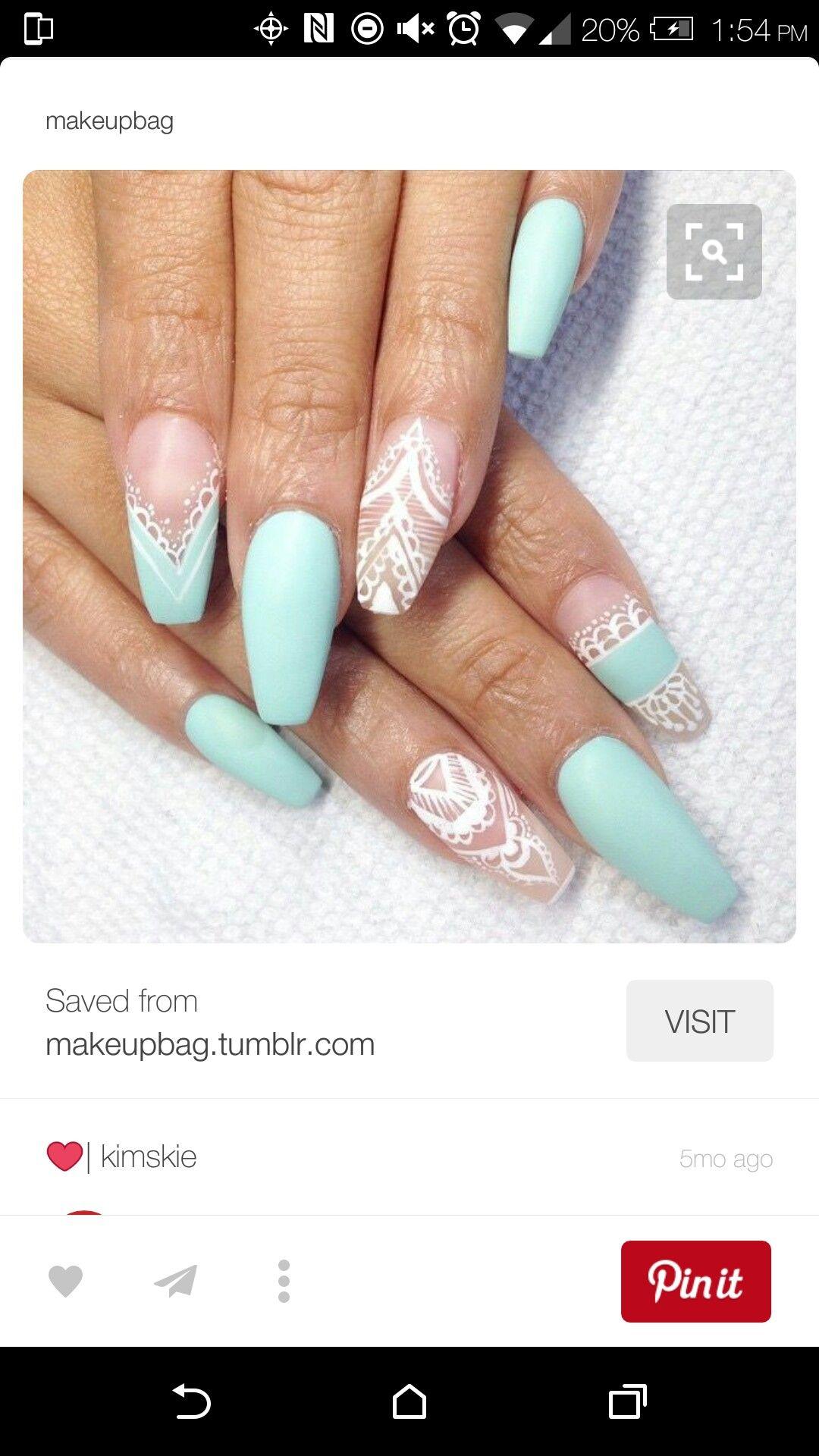 Pin von vanessalv702@gmail.com auf nails | Pinterest