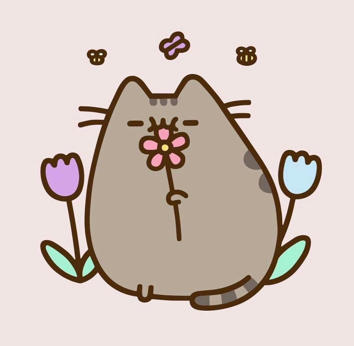 Get ready for spring with Pusheen!!