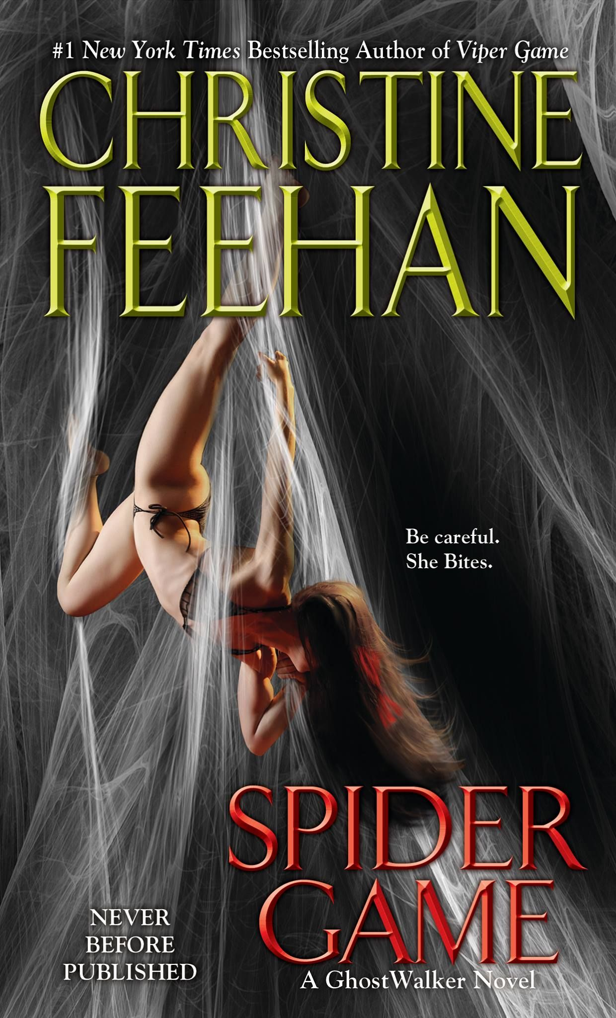 Spider Game by Christine Feehan Release date January 26