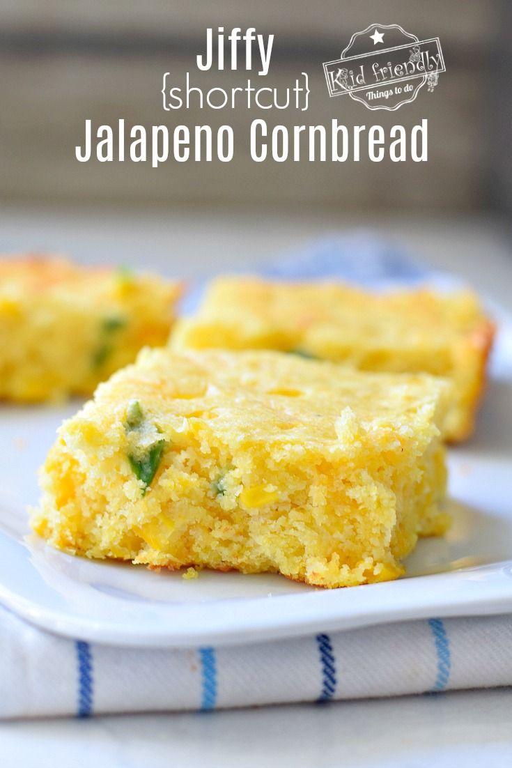 Shortcut Jalapeno And Cheese Corn Bread Using Jiffy Mix Recipe Food Recipes Cornbread Granny S Recipe
