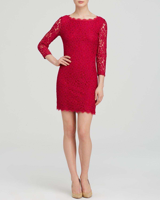 DIANE von FURSTENBERG Dress - Zarita Lace   Bloomingdale\'s   Moda ...