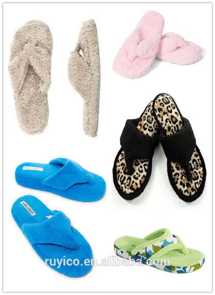 293fde2e3 Towelling Flip Flop Slippers   Terry Cloth Thong Slipper - Buy ...