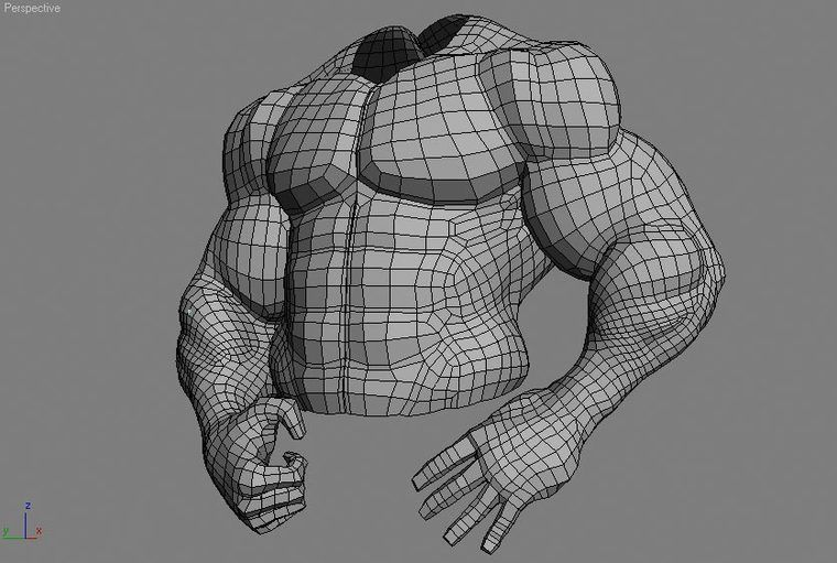 Zbrush Muscle Guy Anatomy - Game Artist Forums