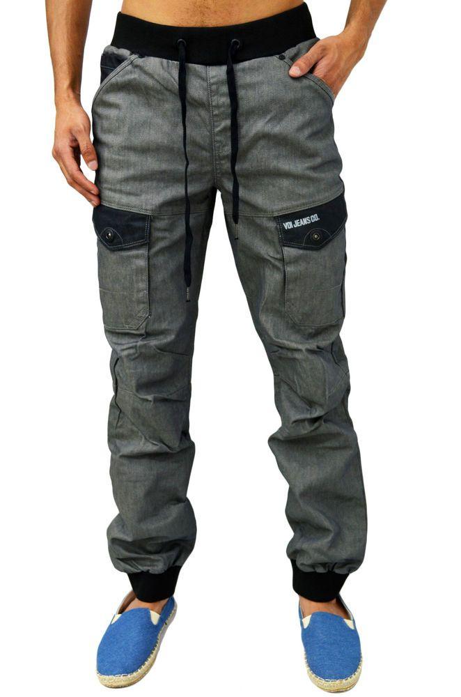 New Mens Voi Jeans Designer Hostile Hoody Grey