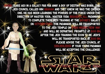 More Than the Mulberries: Star Wars Birthday Party