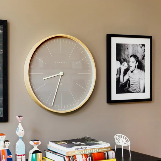 Bring A Touch Of Nordic Style To Your Home With Our Mr Clarke Large Scandi Plywood Wall Clock This Contempor Newgate Clocks Contemporary Wall Clock Wall Clock