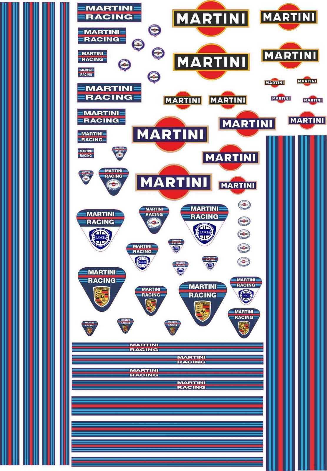1 18 decals martini for gt 40