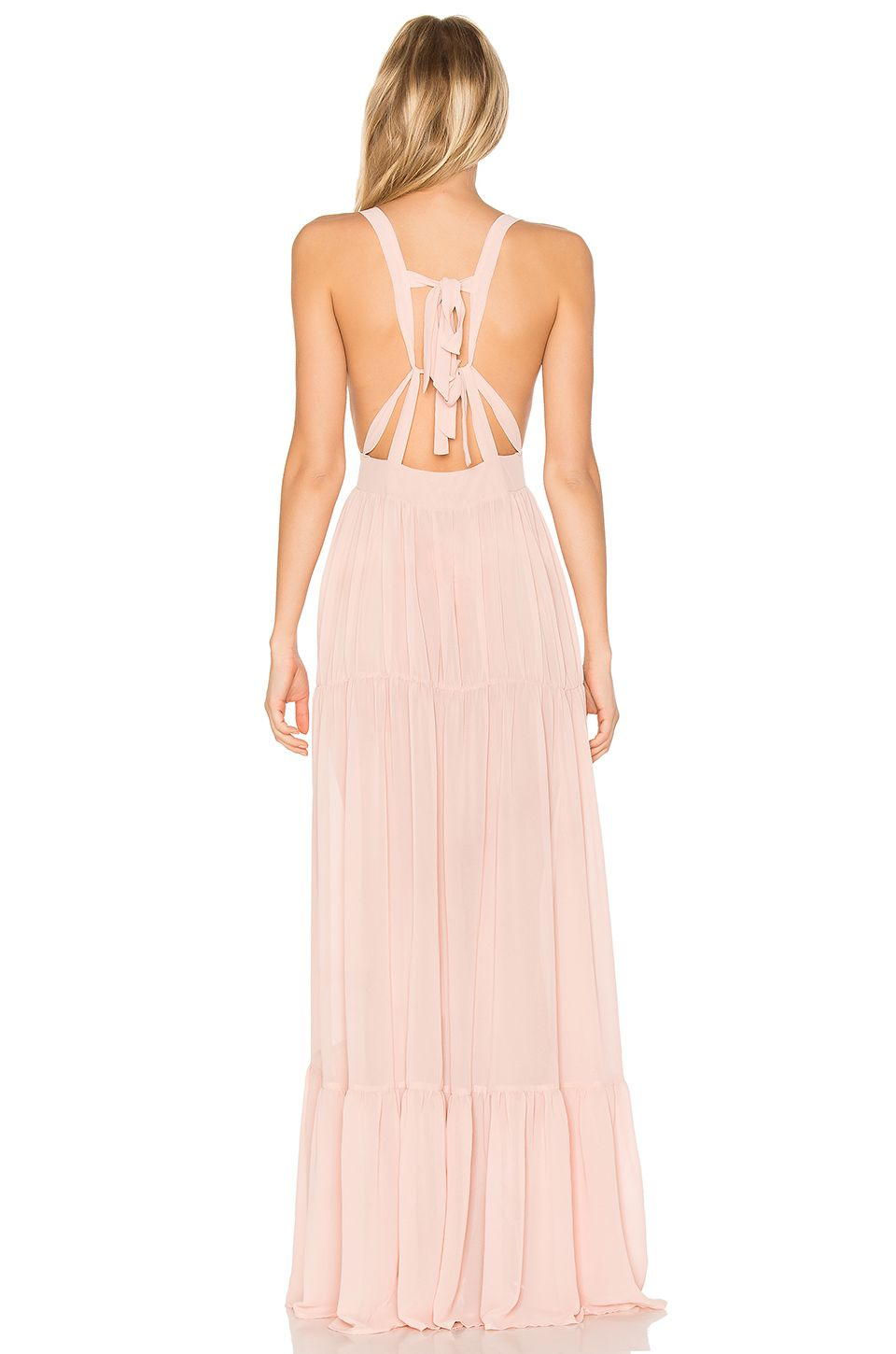 Daydream Nation Hopeless LA Maxi Dress in Ballerina | REVOLVE ...