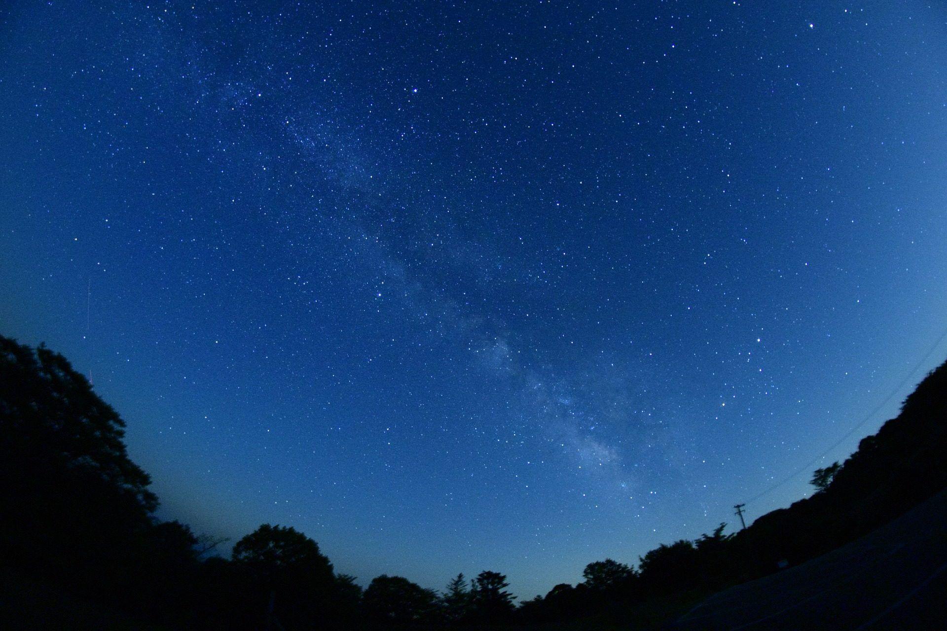 Cielo, Noche, Estrellado, Oscuridad, Estrellas, 1703261044