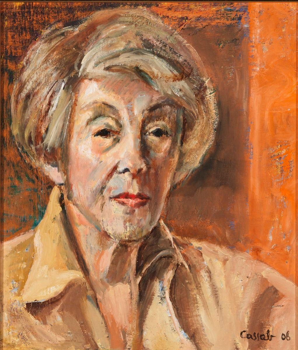 Selfportrait, 2006, by Judy Cassab (Australian, 19202015
