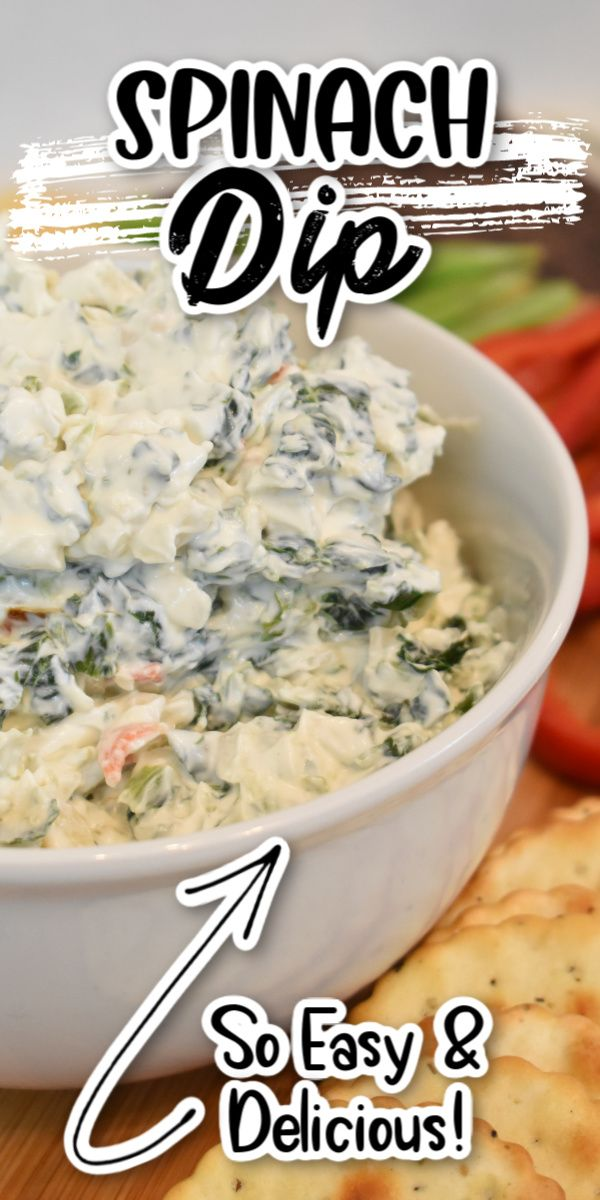 Super Easy Spinach Dip