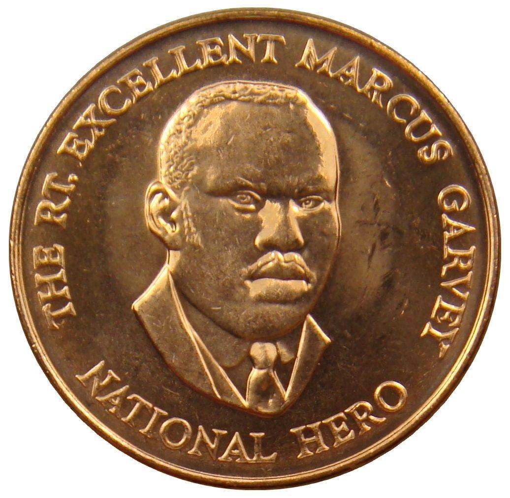 Jamaika Jamaica 25 Cents 2003 Marcus Garvey Coin Coins