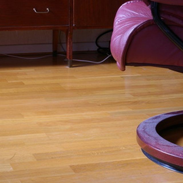Your Homes Laminate Flooring Comes With A Glossy Finish That Doesn