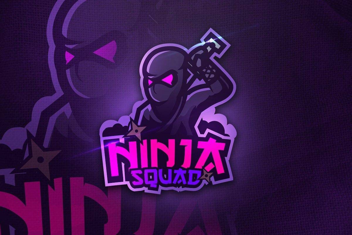 Ninja Mascot Logo Templates for eSports, Team and Clan in
